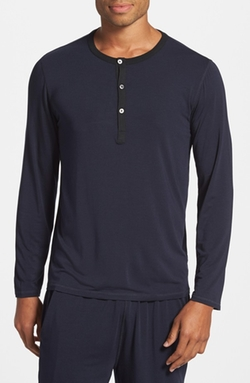 Daniel Buchler - Long Sleeve Henley Shirt