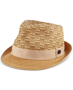 Sean John  - Raffia Fedora Hat
