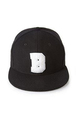 Forever 21 - Flannel Letter Baseball Cap