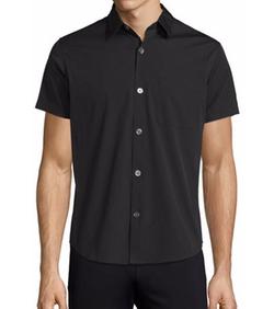 Theory - Rammis Short-Sleeve Woven Shirt