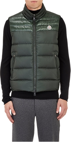Moncler  - Quilted Puffer Vest