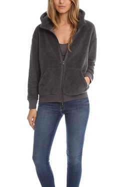 ATM By Anthony Thomas Melillo  Atm  - Funnel Neck Sherpa Hoodie