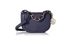 Tommy Hilfiger  - Jenna Leather Cross-Body Bag