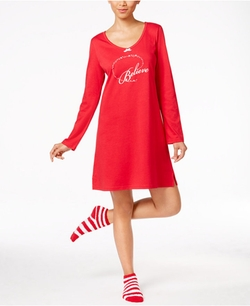 Charter Club - Knit Sleepshirt