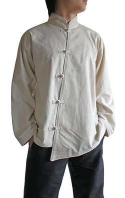 Sawan - Chinese Style Asymmetry Shirt