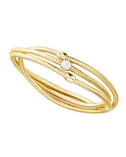 Roberto Coin - Primavera Diamond Wrap Bangle