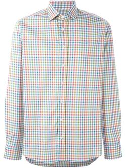Etro   - Checked Shirt