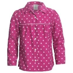 Lands' End  - Brushed Flannel Pajama Shirt