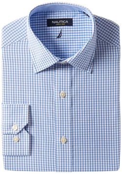 Nautica - Check Spread Collar Shirt