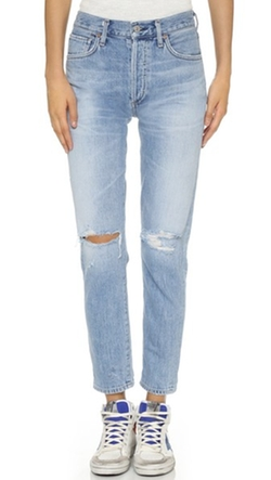 Citizens Of Humanity  - Liya High Rise Classic Fit Jeans