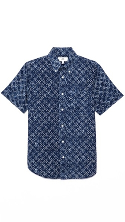 Jack Spade - Batik Sport Shirt