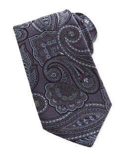 Ermenegildo Zegna   - Tapestry Paisley Silk Tie