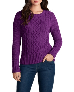 Eddie Bauer - Cable Crewneck Sweater