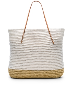 Hat Attack - Twisted Colorblock Tote Bag