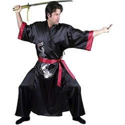 Charades - Samurai Warrior Man Adult Costume