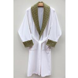 Overstock - Ultra Plush Authentic Hotel and Spa Unisex Green Bathrobe