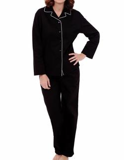 Alexander Del Rossa - Woven Long Sleeve PJ Set