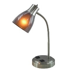 NormandeLighting  - Desk Table Lamp with Bell Shade