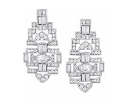 Kenneth Jay Lane - Swarovski Crystal Earrings