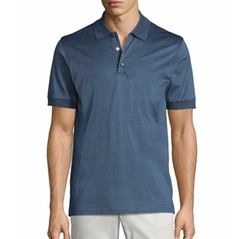 Brioni - Heathered Knit Polo Shirt