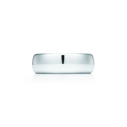 Tiffany Co - Lucida Wedding Band Ring