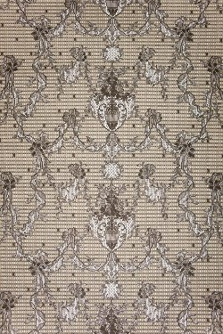MYB Textiles - Ribbon Damask Wallpaper