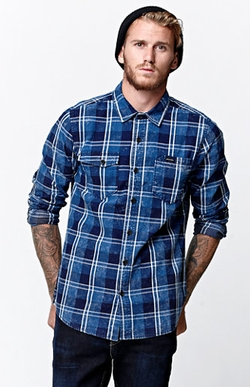 Volcom  - Nash Long Sleeve Button Up Shirt