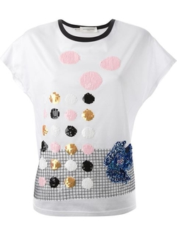 Aquilano.rimondi - Sequin Embellished T-Shirt