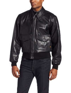 Alpha Industries  - A-2 Leather Flight Jacket