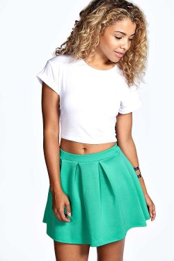 Boohoo - Pop Skater Skirt