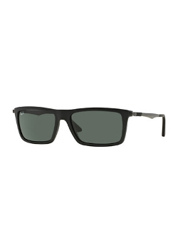 Ray-Ban  - Rubber Square Sunglasses