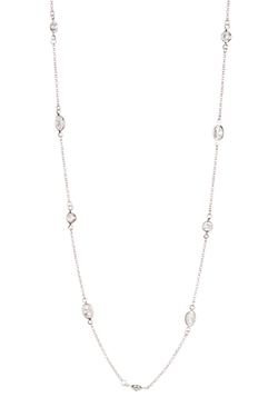 Nordstromrack - Single Strand Oval Station Necklace