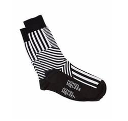 Alexander McQueen - Dazzle Multi-Stripe Socks
