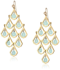 Juicy Couture - Stone Chandelier Earrings