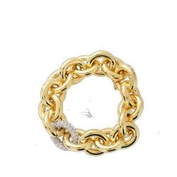 Eddie Borgo - Pave Link Chain Bracelet