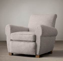 Restoration Hardware - Parisian Upholstered Chair