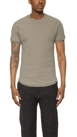 Helmut Lang - Quilted T-Shirt