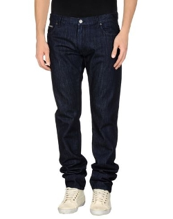 Salvatore Ferragamo - Dark Wash Denim Pants