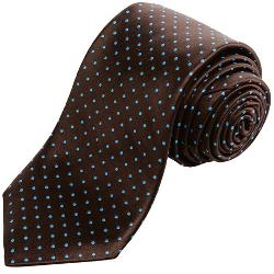 Ike Behar - Mini Polka-Dot Silk Tie