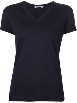 T By Alexander Wang   - V-Neck T-Shirt
