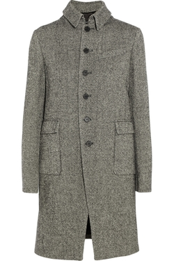 Joseph - Cardiff Herringbone Tweed Coat