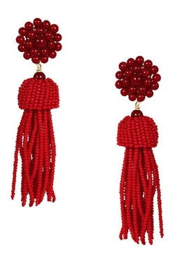 Lisi Lerch - Beaded Tassel Earrings