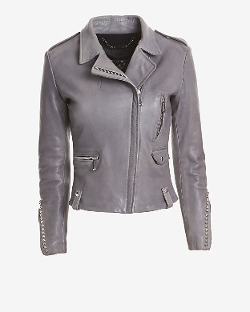 Barbara Bui  - Exclusive Studded Leather Moto Jacket