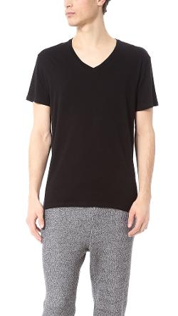 ATM Anthony Thomas Melillo  - V Neck Vintage Jersey T-Shirt