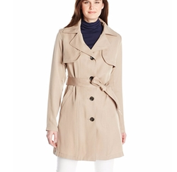 Vince Camuto - Single-Breasted Trench Coat