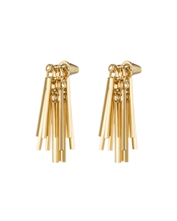 Eddie Borgo	 - Gold-Plated Fringe Earrings