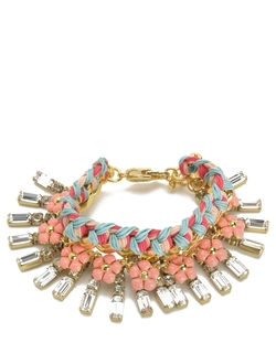 Juicy Couture - Multi Stone And Charm Bracelet