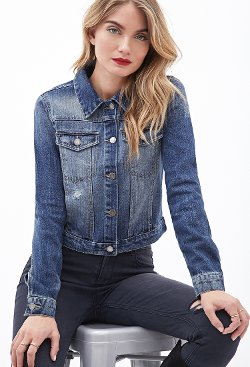 Forever 21 - Life in Progress Denim Jacket