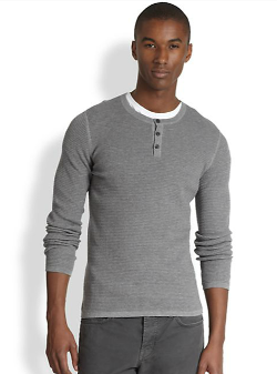 Vince  - Pull-Over Henley