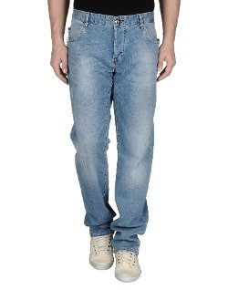 Philipp Plein  - Straight Leg Denim Pants